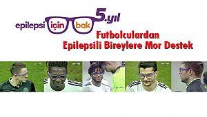 Futbolculardan Epilepsili Bireylere Mor Destek