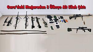 Gara'daki Mağaradan 3 Ülkeye Ait Silah Çıktı