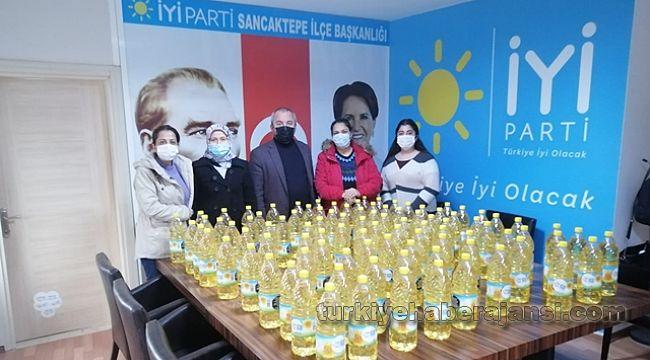 İYİ Parti Sancaktepe'den Yağlı tepki