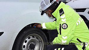Kış Lastiği Takmayan 511 Sürücüye CEZA Kesildi