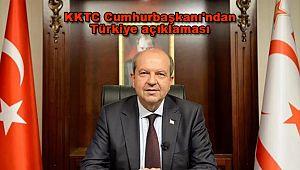 KKTC Cumhurbaşkanı'ndan flaş Türkiye açıklaması