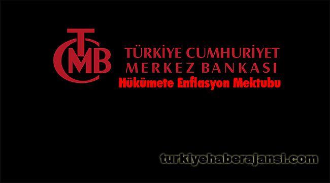 Merkez Bankası'ndan Hükümete Enflasyon Mektubu