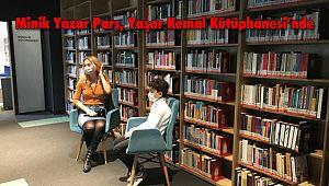 Minik Yazar Pars, Yaşar Kemal Kütüphanesi'nde