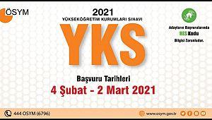 2021 YKS Başvurularında Son Gün