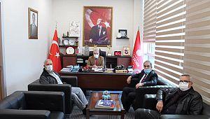 Başkan Karaağaç'tan STK Koordinatörü Akkuş'a ZİYARET