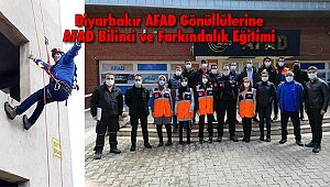 Diyarbakır AFAD Gönüllülerine AFAD Bilinci ve Farkındalık Eğitimi