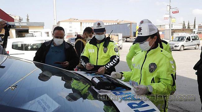 İstanbul'da bir haftada 43 bin 920 sürücüye CEZA yazıldı