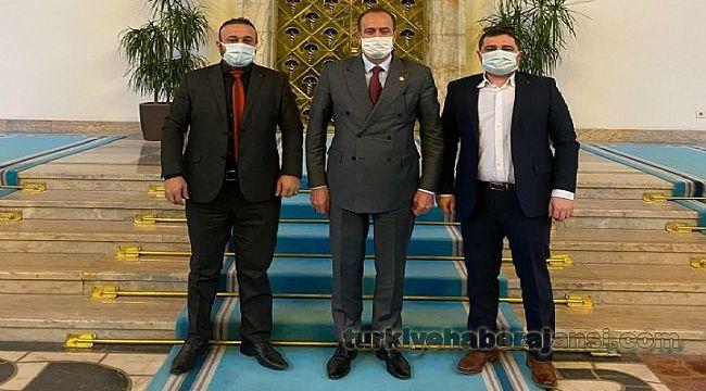 İzmir TUMED Başkanı Yalçın'dan ÖNEMLİ ZİYARET