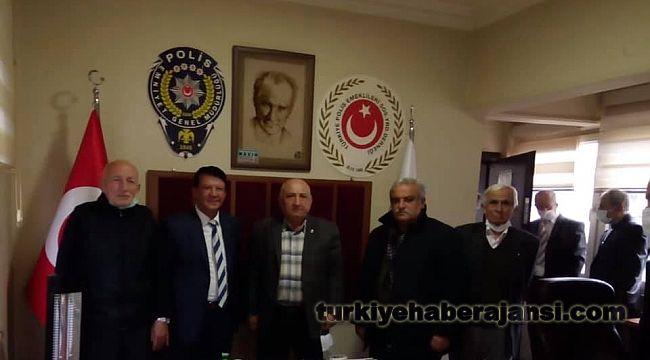 Vali Tutulmaz' dan Polis Derneğine ZİYARET