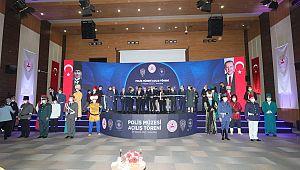 Ankara'da Polis Müzesi Açılış Töreni Gerçekleştirildi