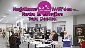 Axis Kağıthane AVM'den Kadın El Emeğine Tam Destek
