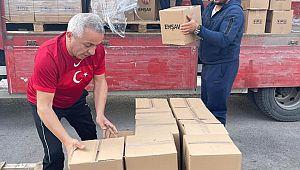 EMŞAV'dan Şehit Ailelerine Ramazan GIDA YARDIMI