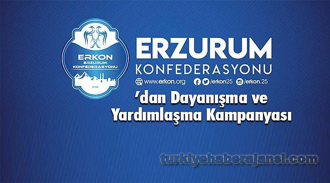 ERKON'dan Dayanışma ve Yardımlaşma Kampanyası