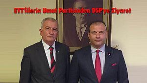 EYT'lilerin Umut Partisinden DSP'ye Ziyaret