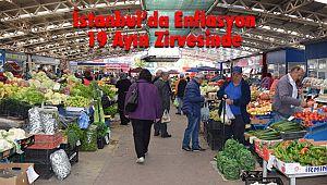 İstanbul'da Enflasyon 19 Ayın Zirvesinde