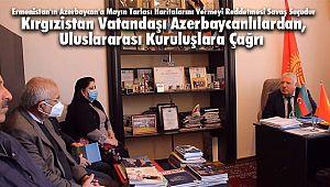 Kırgızistan Vatandaşı Azerbaycanlılardan, Uluslararası Kuruluşlara Çağrı