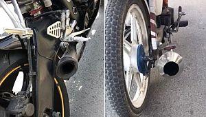 Mersin'de 1268 motosiklet trafikten men edildi