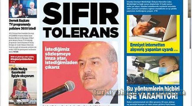 Polis Medya Gazetesi Nisan Sayısı Beğenildi