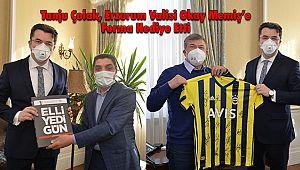Tanju Çolak'tan Erzurum'a Ziyaret