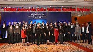 TÜGİAD Ankara'da Zafer Yıldırım Yeniden Başkan