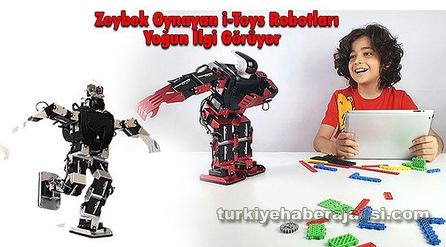 Zeybek Oynayan i-Toys Robotları Yoğun İlgi Görüyor
