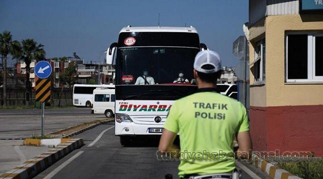 Adana Otogar'da TRAFİK DENETİMİ
