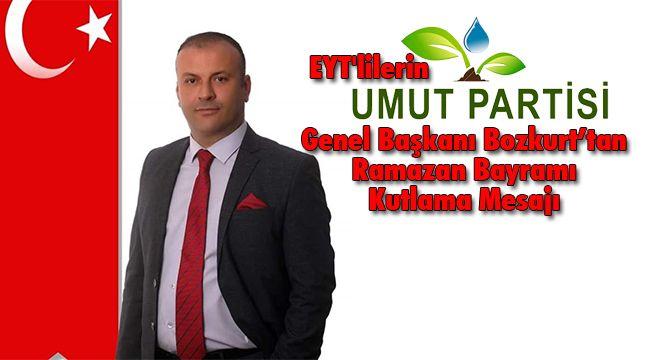 Başkan Bozkurt'tan Ramazan Bayramı Kutlama Mesajı