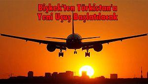 Bişkek'ten Türkistan'a Yeni Uçuş Başlatılacak