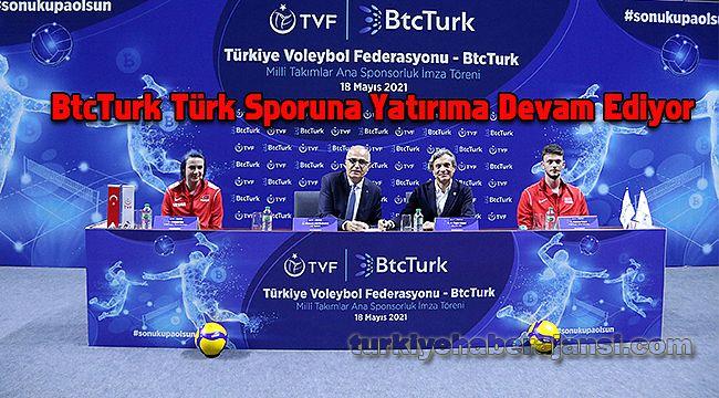 BtcTurk Türk Sporuna Yatırıma Devam Ediyor