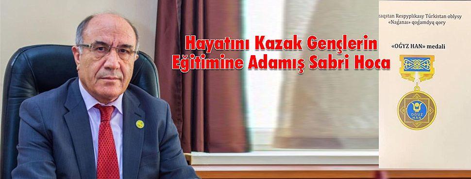 Hayatını Kazak Gençlerin Eğitimine Adamış Sabri Hoca
