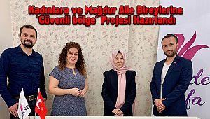 Kadınlara ve Mağdur Aile Bireylerine 'Güvenli bölge' Projesi Hazırlandı