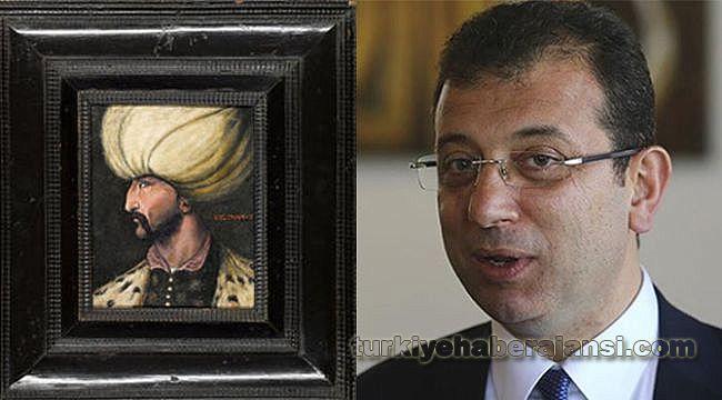 Kanuni Sultan Süleyman Portresi İBB'ye Bağışlandı