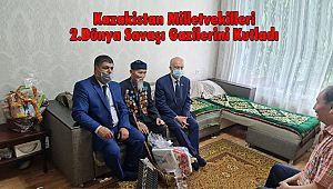 Kazakistan Milletvekilleri 2.Dünya Savaşı Gazilerini Kutladı
