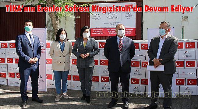 TİKA'nın Erenler Sofrası Kırgızistan'da Devam Ediyor