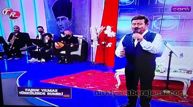 TV Programında Müfettişlerin Trafik Haftasını Kutladı