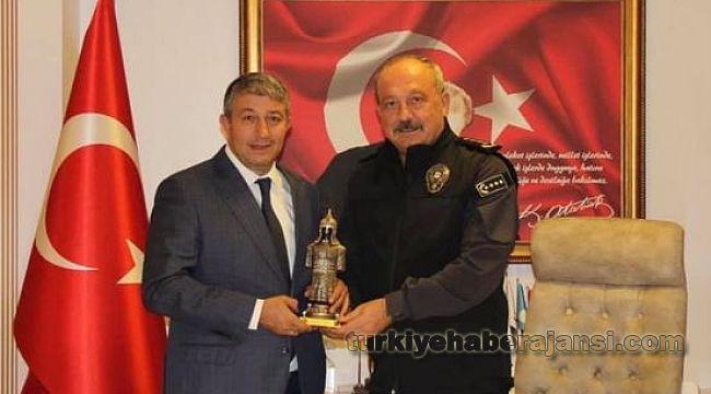 Başkan Haberal'dan Konya Emniyet Müdürü Aydın'a ZİYARET