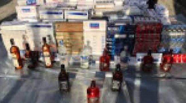 Çocuklara KAÇAK Alkol Sigara Satışı Yapan İşyerine BASKIN