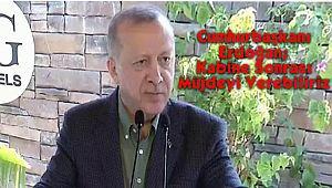 Cumhurbaşkanı Erdoğan; Kabine Sonrası Müjdeyi Verebiliriz