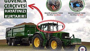 Manisa Emniyetten Traktör Sürücülerine UYARI