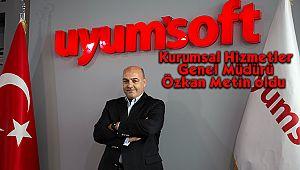 Uyumsoft'un Kurumsal Hizmetler Genel Müdürü Özkan Metin Oldu