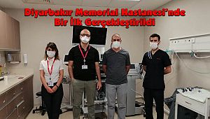 Diyarbakır Memorial Hastanesi'nde Bir İlk Gerçekleştirildi