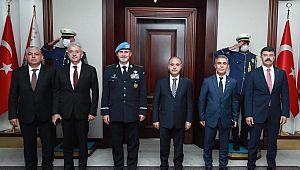 EGM Aktaş, BM Polis Müşavirini Konuk Etti