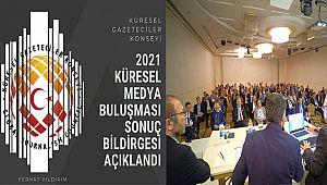 KGK Alanya 2021 Küresel Medya Buluşması'nın Sonuç Bildirgesi Açıklandı