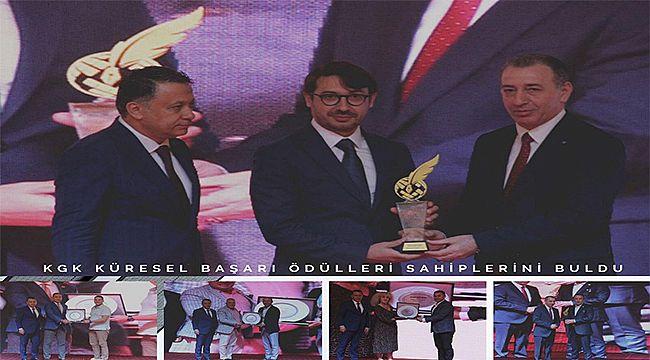 KGK Küresel Başarı Ödülleri Sahiplerini Buldu