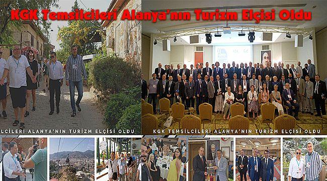 KGK Temsilcileri Alanya'nın Turizm Elçisi Oldu