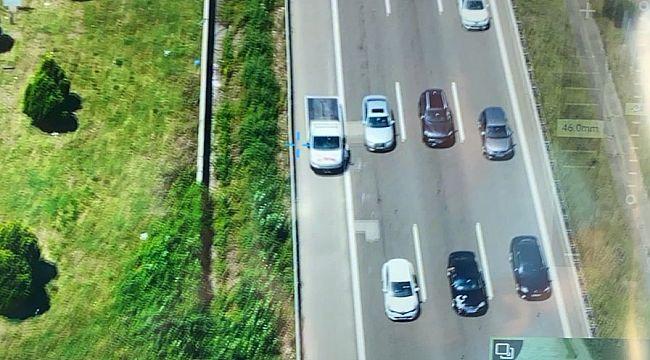Trafik Müfettişinden sürücülere EMNİYET/ARIZA ŞERİDİ uyarısı