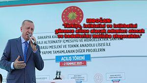 'Türkiye, istiklalini ve İstikbalini Güvence Altına Alacak Adımları Atacak'