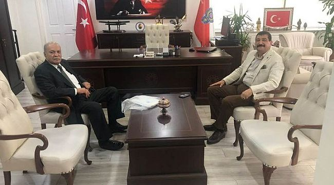 Uğur Gür'den Emniyet Müdürü Aksoy'a HAYIRLI OLSUN Ziyareti