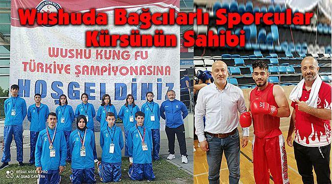 Wushuda Bağcılarlı Sporcular Kürsünün Sahibi