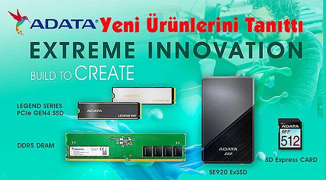 ADATA Yeni Ürünlerini Xtreme Innovation Etkinliğinde Tanıttı